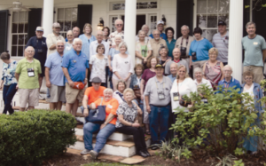 Pictured above is the Amateur Radio Chapter Fall 2016 Rally Group on the front steps of the Carter House after having enjoyed their lunch.