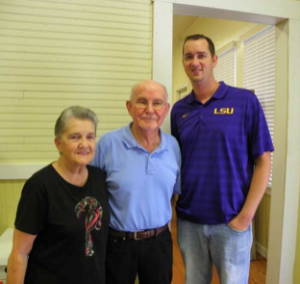 Pictured above, on the right, is J.T. Taylor, Assistant Director of the Livingston Convention & Visitors Bureau, standing beside Mr. Alex Kropog and Mrs. Royanne Kropog with the Hungarian Museum. Mrs. Kropog is the Curator for the Museum.